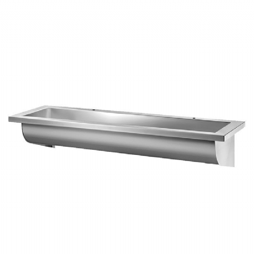Delabie CANAL 1200mm Wash Trough (2 Tap Holes)